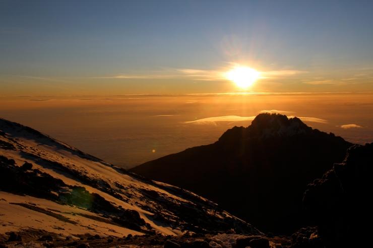 Sunrise at summit