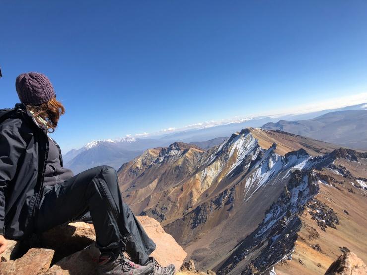Pichu Pichu summit, 5664m.a.s.l
