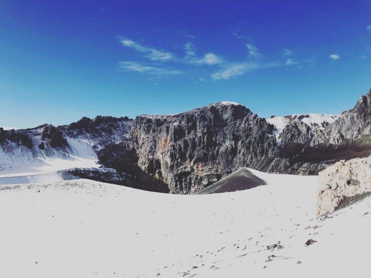 Ubinas Crater
